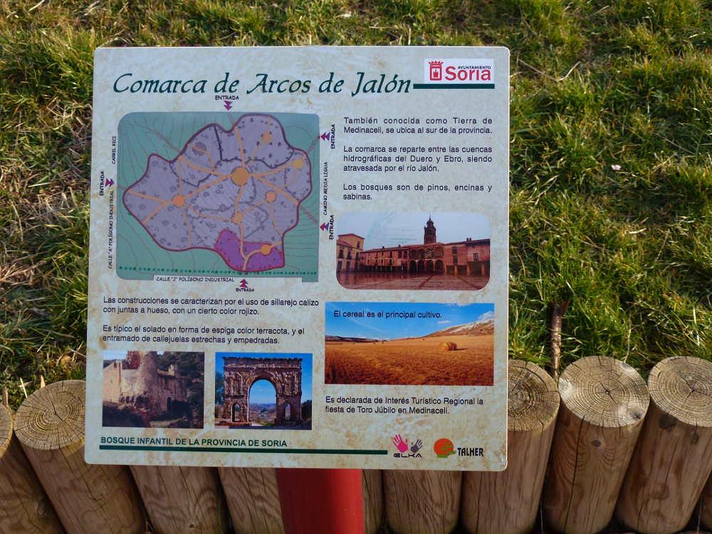 Comarca Arcos de Jalon en Bosque Infantil de Soria