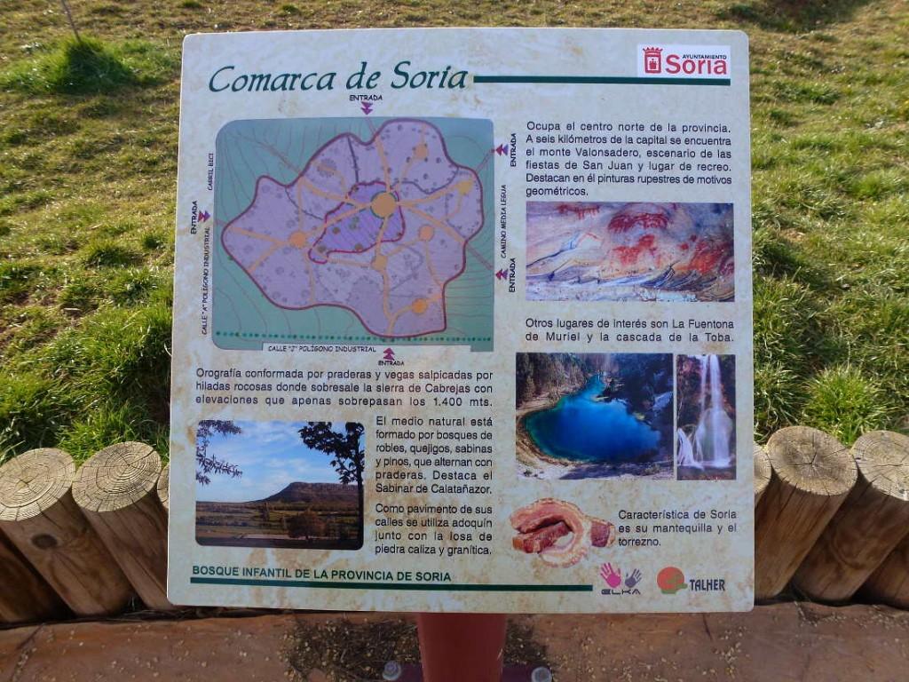 Comarca de Soria en Parque Infantil