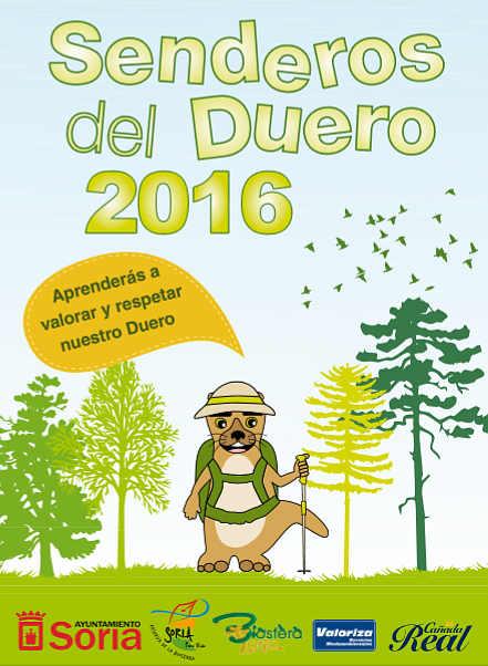 Senderos del Duero 2016 en Soria, cartel