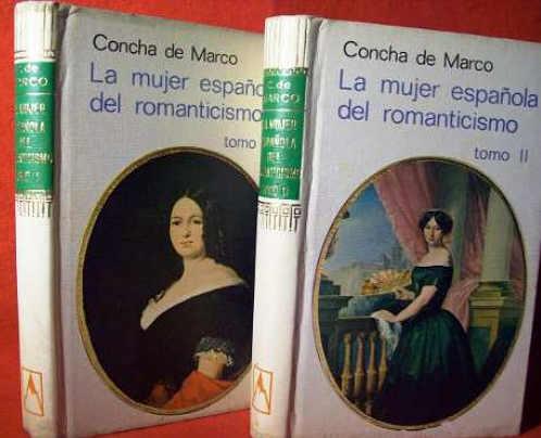 Concha de Marco_La mujer española en el romanticismo