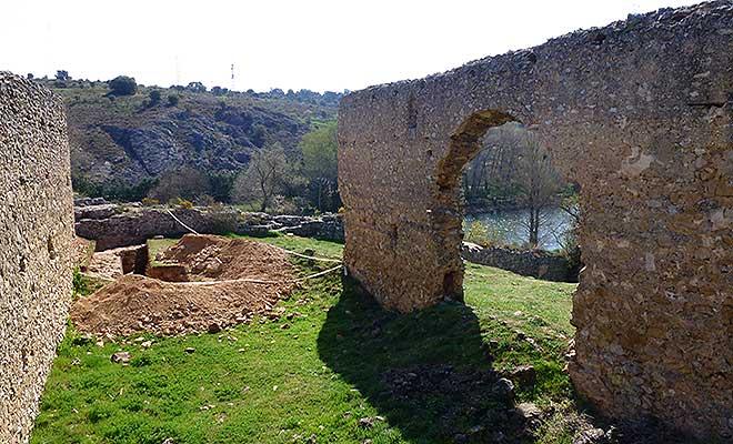 Castillo y muralla de soria - Arquitectos en soria ...