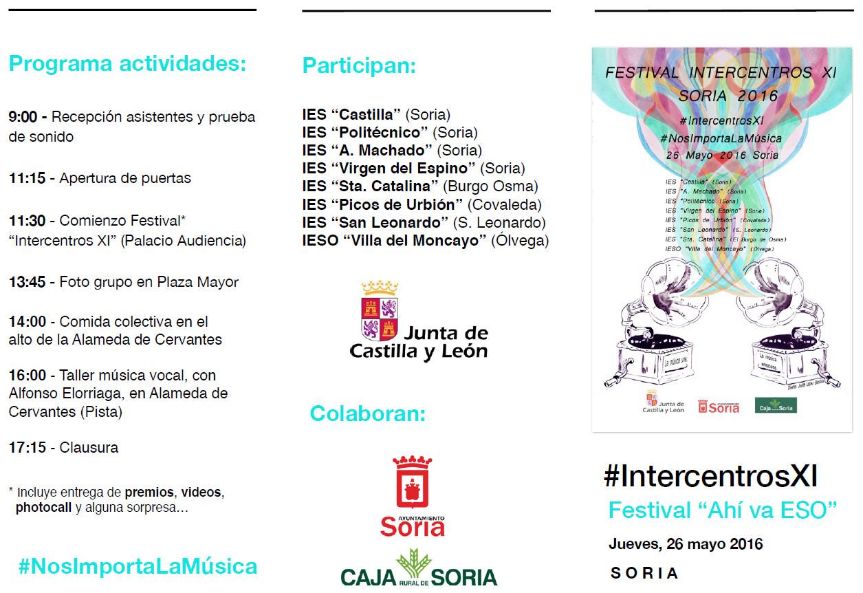 Intercentros Soria 2016