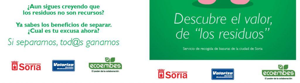 Valor de los residuos en Ayuntamiento de Soria