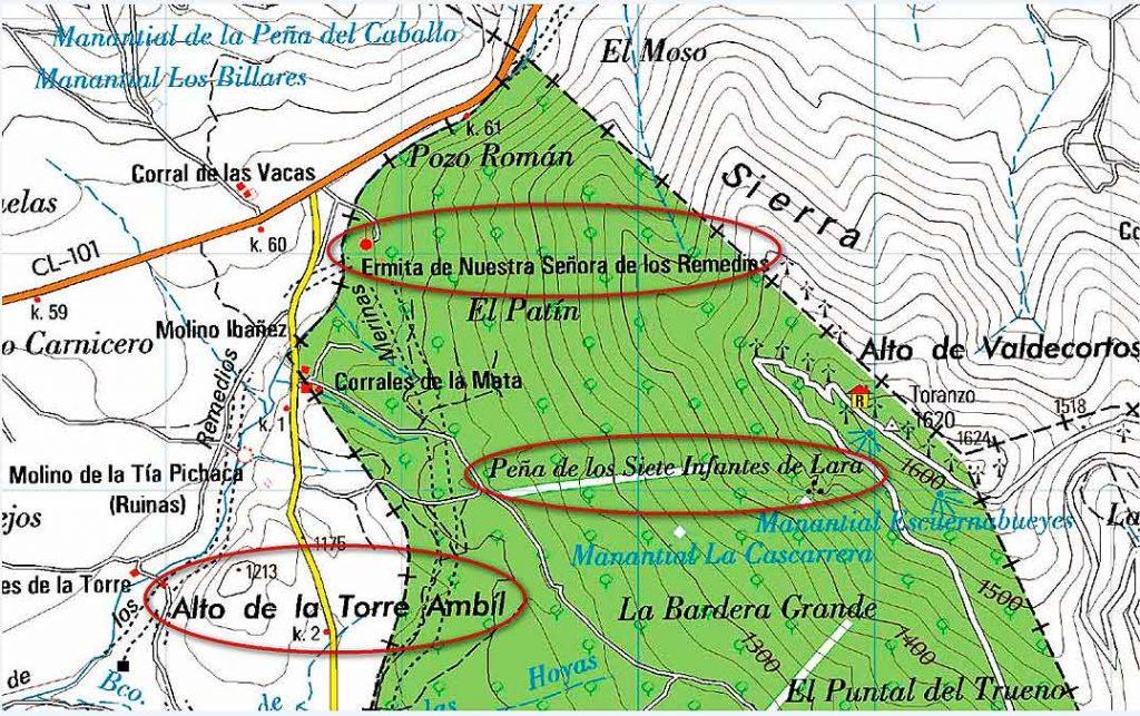 Enclaves-de-los-Siete-Infantes-de-Lara-en-Monte-Toranzo-de-Soria-Noviercas
