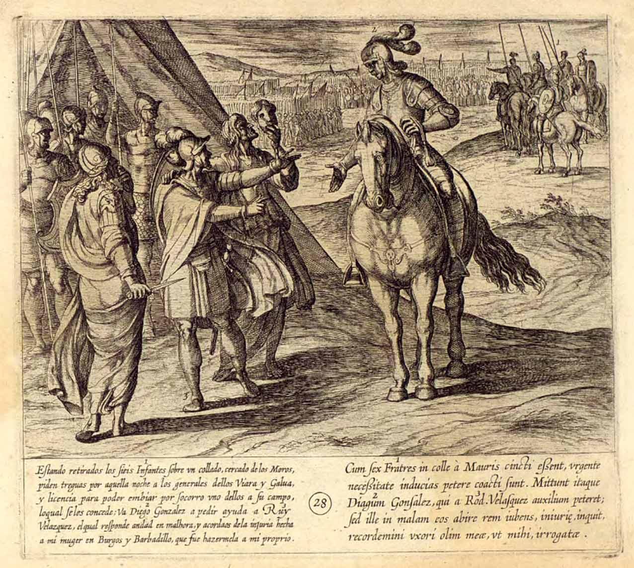 Entre-batallas-de-los-Siete-Infantes-de-Lara