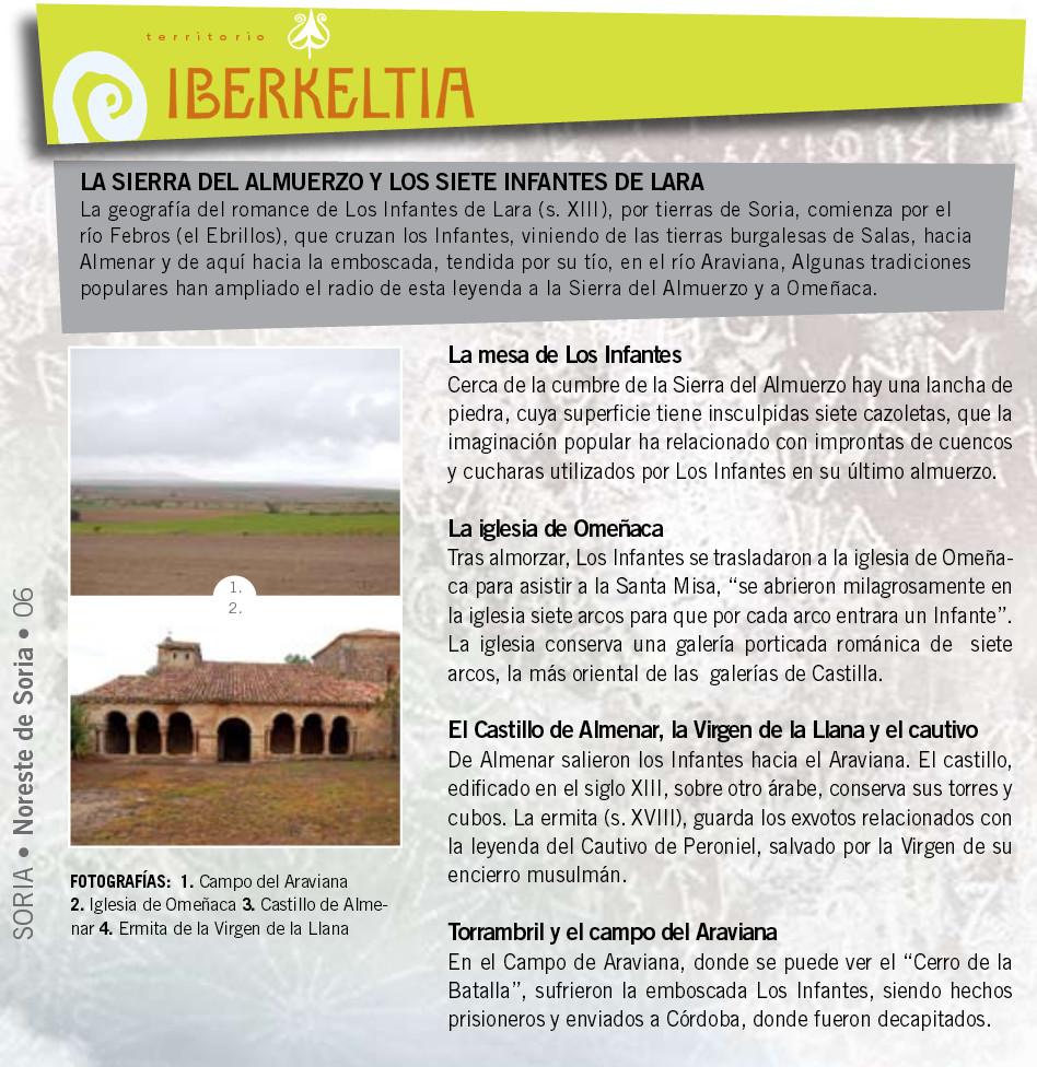 Infantes de Lara en Territorio Iberkeltia
