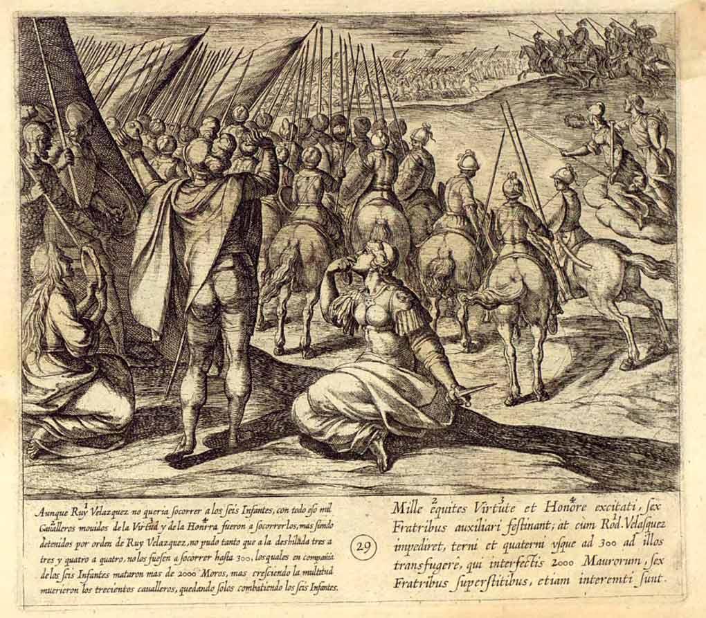 Salida-batallafinal--de-los-Siete-Infantes-de-Lara