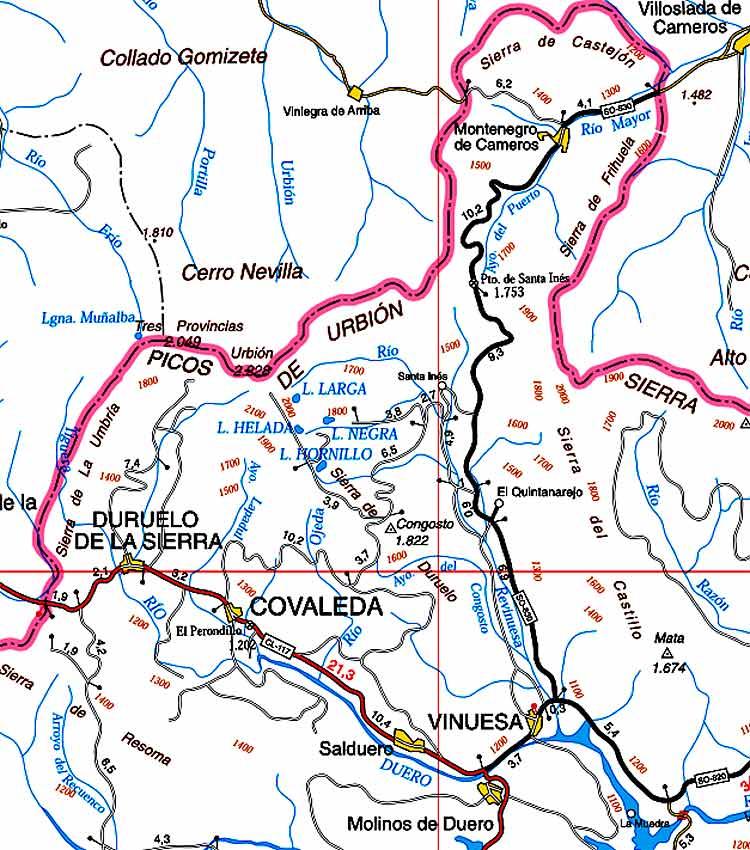 Zona-de-Pinares-Soria-Montaña-Urbion
