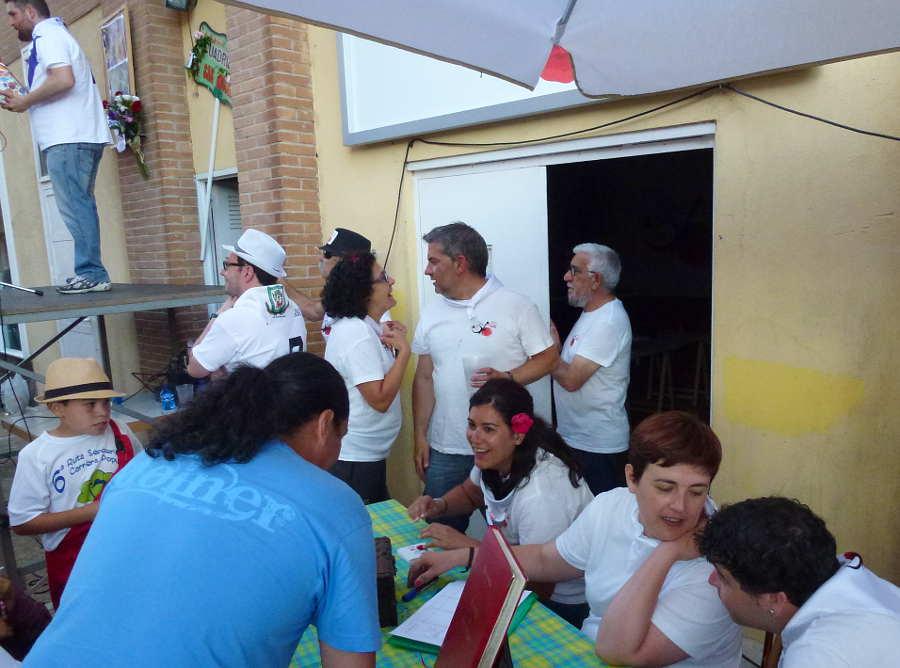 Cuadrilla San Miguel en Sabado Ages Sanjuanes Soria 2016