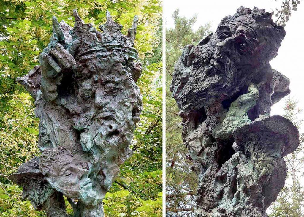 Lear-y-Quijote_Shakeaspeare-y-Cervantes_escultura-Greg-Wyatt-Fundacion-Duques-de-Soria