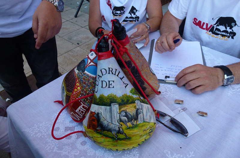 botas cuadrilla del Salvador Sanjuanes Soria 2016