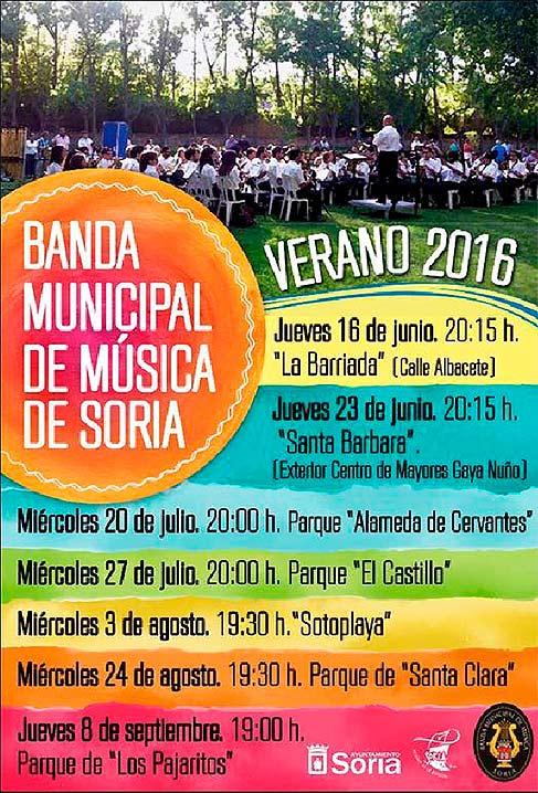 cartel-banda-de-musica-de-soria-en-verano-2016