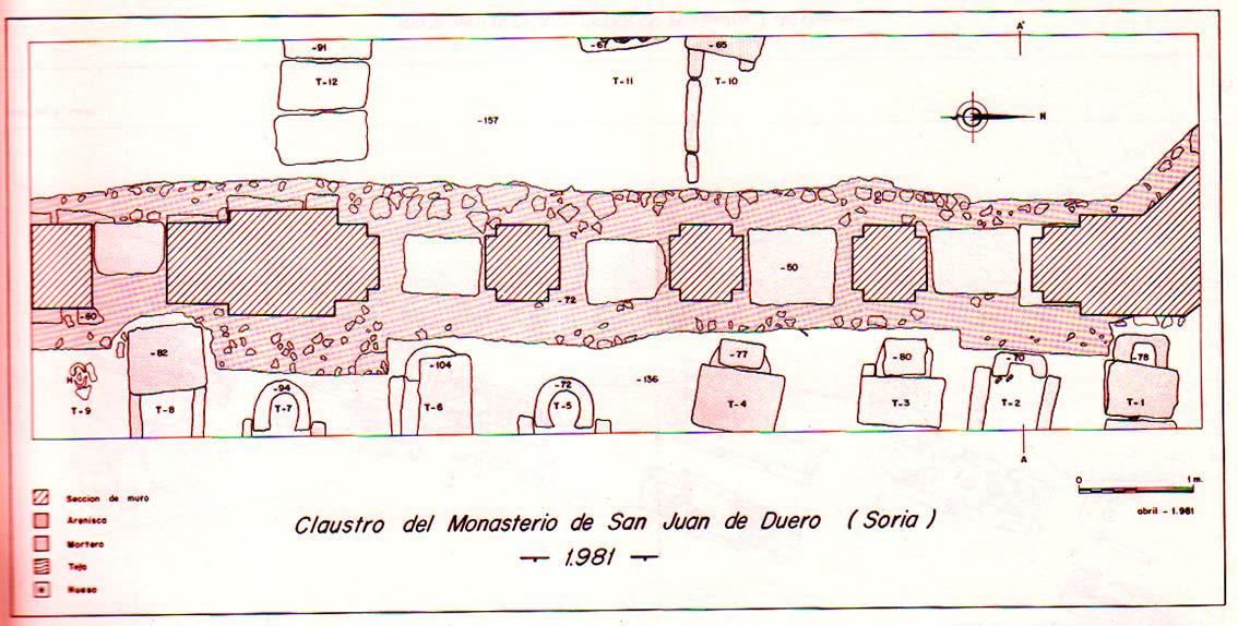 tumbas-en-claustro-de-san-juan-de-duero-1