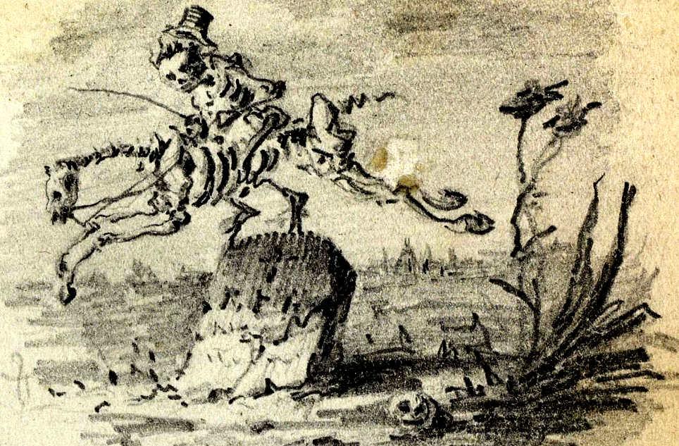 cabalgada-de-un-esqueleto-dibujada-por-gustavo-adolfo-becquer