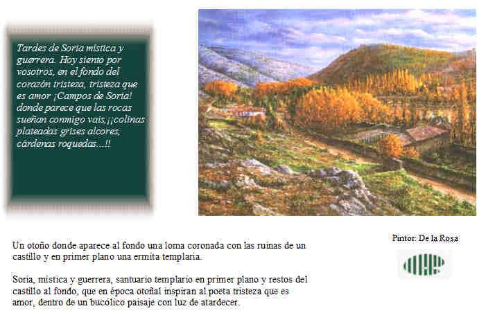 Otoño machadiano en los cuadros de Rafael de la Rosa – elige.soria.es